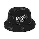 [스티그마]STIGMA STAY HIGH STAY COOL BUCKET HAT BLACK_벙거지_모자_버킷햇