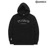[앨빈클로]ALVINCLO  AVH-188B 컬러마다 다른 레터링! 크룬 후드 티셔츠 후디