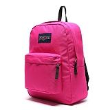 [잔스포츠]JANSPORT - 슈퍼브레이크 (T50101B - Cyber Pink) 잔스포츠코리아 정품 AS가능 백팩 가방 스쿨백 데이백 데일리백