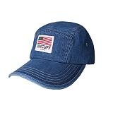 [짐커프]JIMCUFF USA LOGO TYPE2 DENIM CAMP CAP 연청 J313 데님 캠프캡
