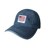 [짐커프]JIMCUFF USA LOGO TYPE2 DENIM CAMP CAP 중청 J312 데님 캠프캡