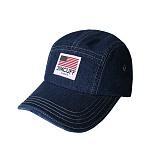 [짐커프]JIMCUFF USA LOGO TYPE2 DENIM CAMP CAP 진청 J311 데님 캠프캡