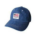 [짐커프]JIMCUFF USA LOGO TYPE2 DENIM CAP 연청 J308 데님 볼캡 야구모자