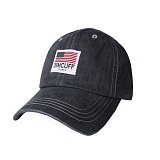 [짐커프]JIMCUFF USA LOGO TYPE2 DENIM CAP 차콜 J309 데님 볼캡 야구모자