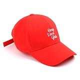 [슈퍼비젼]supervision - LOVEGIRLS BALLCAP RED - [POP] 볼캡 야구모자