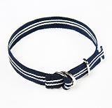 [러쉬오프]RUSH OFF - [UNISEX]Navy Stripe Casual Belt Bracelet / 네이비스트라이프 캐주얼벨트 팔찌