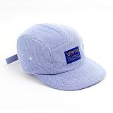 슈퍼비젼 - STRIPE CAMPCAP BLUE - [POP] 캠프캡