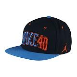 [NIKE]나이키 조던 모자 뉴에라 스냅백 724906_010 블랙 NIKE JORDAN CAP 정품 국내배송