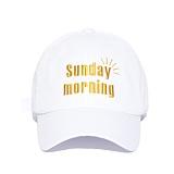 [슬리피슬립]SLEEPYSLIP - [unisex]SUNDAY MORNING WHITE BALL CAP 선데이모닝 볼캡 야구모자