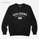 [레이쿠] reiku original jp99 mtm black 맨투맨