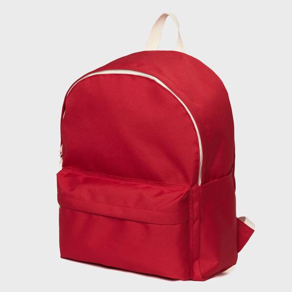 네이키드니스 Standard Backpack - Red 무지백팩
