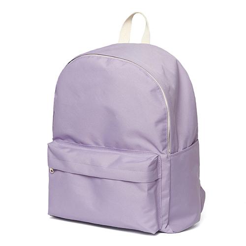 [네이키드니스]Standard Backpack - Lavender 무지백팩 코팅방수 키홀더 데이백 라벤더