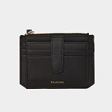 [살랑] SALRANG -Dijon 301S Flap mini Card Wallet black 미니카드지갑