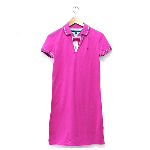 타미힐피거 여성 원피스 드레스 (라벤다) Tommy Hilfiger 정품 국내배송