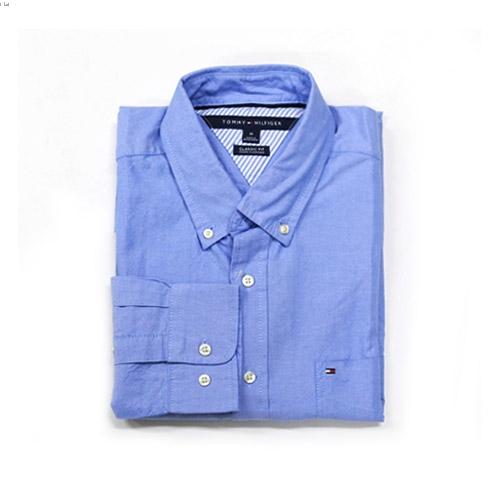 타미힐피거 남성 셔츠 857066_468 스카이블루 Tommy Hilfiger 정품 국내배송