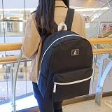 [에이비로드]ABROAD - Basic Backpack (black) 무지백팩 블랙