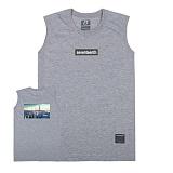 [세븐틴스] SEVENTEENTH CITY VIEW NEW YORK SLEEVELESS TEE - GRAY 나시 민소매 티셔츠 그레이