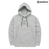 [앨빈클로]ALVINCLO  AVH-190G 끈배색 후드 티셔츠 후디