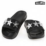 [질리퍼]JILLIPER - LUCY (BLACK-SILVER) 슬리퍼 여름신발 바캉스아이템