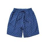 파르티멘토 - Pattern Linen 1/2 Pants