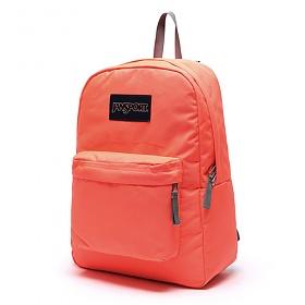 정품뱃지증정 [잔스포츠]JANSPORT - 슈퍼브레이크 (T5010D5 - Tahitian Orange) 잔스포츠코리아 정품 AS가능 백팩 가방 스쿨백 데이백 데일리백