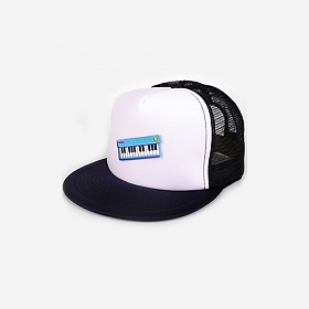 [모쿠요비]MOKUYOBI - TWO TONE MESH CAP (KEYBOARD) 투톤 메쉬캡