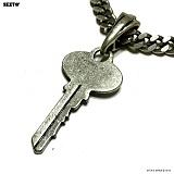 SEXTO - [Handmade][팬던트]Key Vintage Silver 펜던트