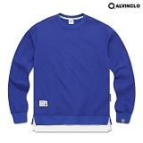 [앨빈클로]ALVINCLO MAR-751C 다양한 컬러의 레이어드 맨투맨 크루넥 스��셔츠