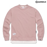 [블프특가][앨빈클로]ALVINCLO MAR-751DP 다양한 컬러의 레이어드 맨투맨 크루넥 스��셔츠