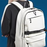 [제이아셀] JEASHER - Day max Backpack (WH) 데이 맥스 백팩 화이트 가죽 레더