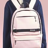 [제이아셀] JEASHER - Day max Backpack (PK) 데이 맥스 백팩 핑크 가죽 레더