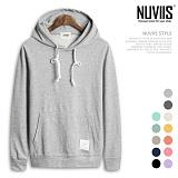 [뉴비스] NUVIIS - 소프트 무지 후드 티셔츠 (SP002HD)