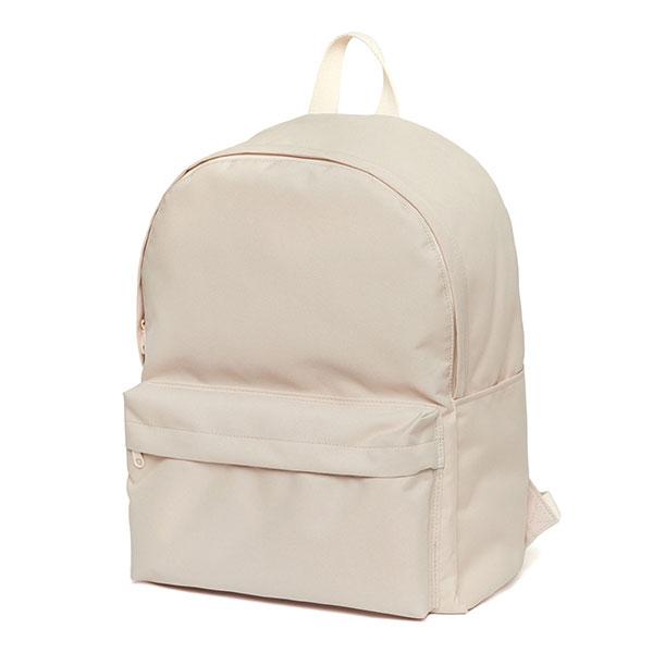 [네이키드니스]Standard Backpack - Light Beige 무지백팩 코팅방수 키홀더 데이백 라이트베이지