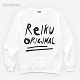 [레이쿠] reiku original n design a01 mtm-k white 기모 맨투맨 2종 택1