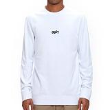 [오베이]OBEY - 16FW JUMBLE BARS CREW 111600094 (WHITE) 맨투맨
