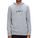 [오베이]OBEY - CONTORTED HOOD 111610052 (HEATHER GREY) 후드티
