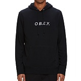 [오베이]OBEY - CONTORTED HOOD 111610052 (BLACK) 후드티