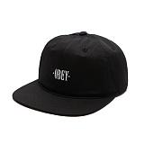 [오베이]OBEY - EARL 6 PANEL 100580005 (BLACK) 베이스볼캡 야구모자 볼캡