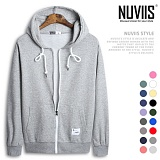 [뉴비스] NUVIIS - 남녀공용 특양면 컬러 후드 집업(CO022HDZ)