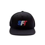[티엔피]TNP - SFT RUBBERY LOGO SNAPBACK-BLACK 러버 로고 스냅백