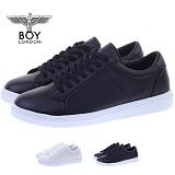 [보이런던]boylondon-MENS 355 oliver sneakers(black)-5.0cm 키높이 남자 스니커즈 올리버 단화 신발 컨버스