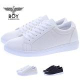 [보이런던]boylondon-MENS 355 oliver sneakers(white)-5.0cm 키높이 남자 스니커즈 올리버 단화 신발 컨버스