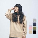[언리미트]Unlimit - R Sleeve (AF-C040)_7color 롱슬리브 쭈리 무지 맨투맨 크루넥 스��셔츠
