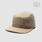 [그레이지] GRAGE - GRAGE JOURNEY CAP (Beige) 모자 캠프캡 베이지