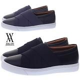 [에이벨류] 307-sindi 남성 밴딩 디자인 슬립온-2.5cm (블랙.그레이) 남자 신디 스니커즈 단화 신발