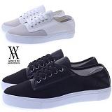 [에이벨류] 325-maka 남성 캐주얼 스니커즈-3cm (화이트.블랙) 남자 마카 단화 패션화 신발 슈즈