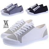[에이벨류] 326-daily 남녀공용 라이트 캐주얼 스니커즈-2.5cm (블랙.화이트) 커플 데일리 단화 신발 슈즈