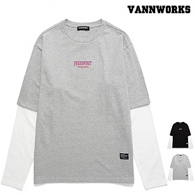 밴웍스 LAYERED FREESPIRIT 프린트 티셔츠(VNAFTS312)_2colors