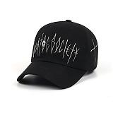 STIGMA - CROSS BASEBALL CAP BLACK_야구모자_모자 볼캡 블랙
