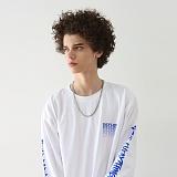 [디플로우]DEFLOW - DEFLOW SPREAD LOGO LONGSLEEVE(WHITE) 팔긴 긴팔티 롱슬리브